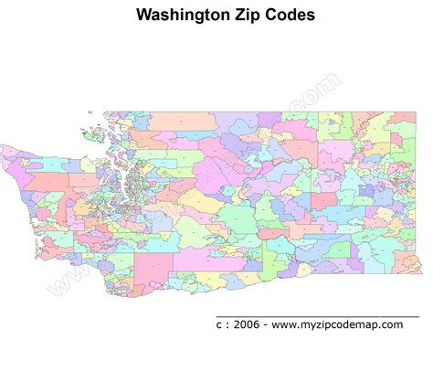 zip code maps free washington zip code maps free washington zip code maps