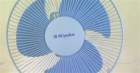 Dan Spesifikasi Kipas Angin Miyako daftar harga baru kipas angin berbagai merk dan spesifikasi