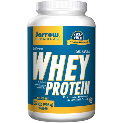 Whey Protein jarrow formulas 100 whey protein unflavored 32