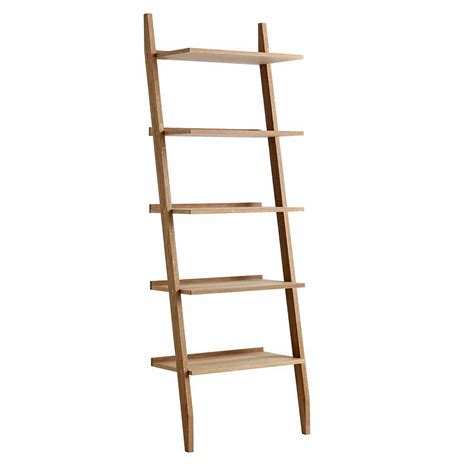 ladder shelving units vale furnishers vale oak ladder shelving unit