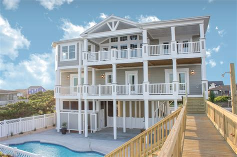 beach style house beach home 122 beach style exterior wilmington by