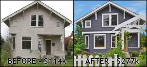 before after house flip pictures house and home design