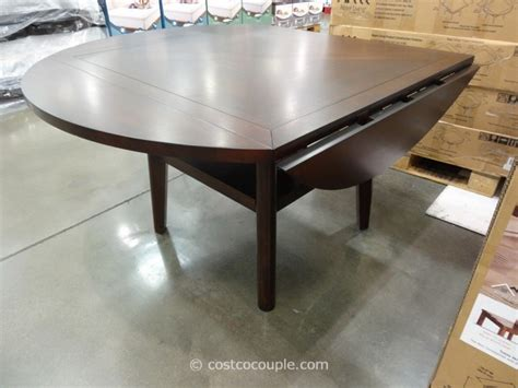 Regal Living Beckett Drop Leaf Dining Table Costco Dining Table
