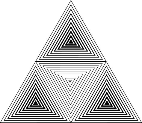 geometric triangle tattoo deviantart more like fractal tessellation by