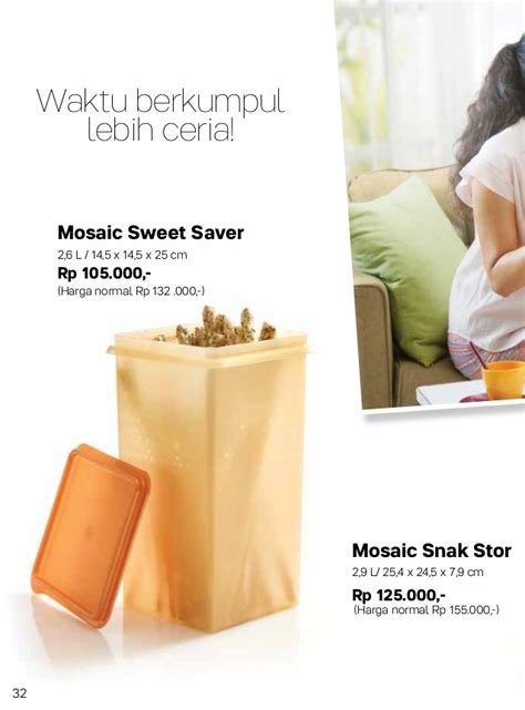 Mosaic Sweet Saver 2 2l 087837805779 tupperware promo 2017 katalog tupperware