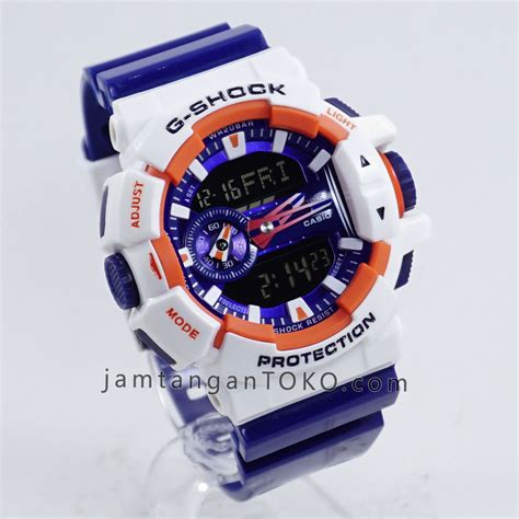 Casio Gshock Ga 201rd Ori Bm harga sarap jam tangan g shock ori bm ga 400cs 7a putih biru