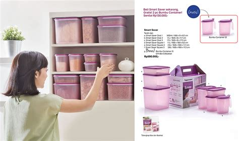 Tupperware Smart Saver Terbaru smart saver tupperware indonesia promo terbaru