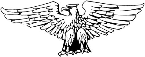eagle wings coloring page free eagle coloring pages