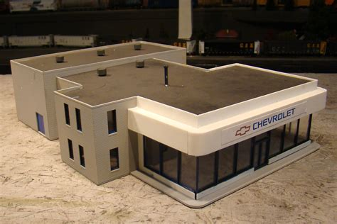 chevy chrysler ho scale walthers international dealership can be ford