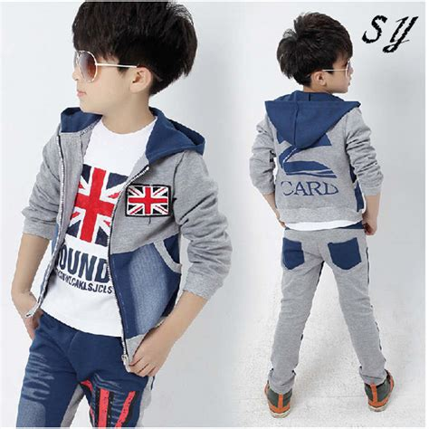 fashion boy 2015 2015 fashion kids autumn teenage boy clothing sets spring