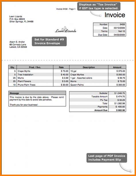 gst invoice format pdf hardhost info