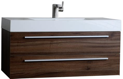 39 bathroom vanity buy 39 25 inch contemporary bathroom vanity walnut tn t1000 wn on conceptbaths com