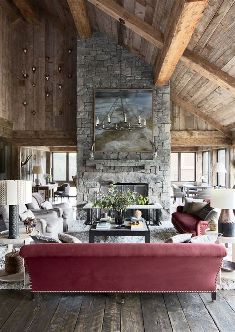 montana home decor rustic living room by markham roberts inc by
