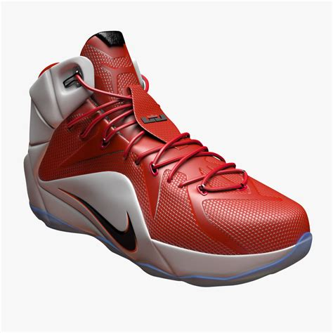 basketball shoes model nike lebron 12 basketball shoe 3d c4d
