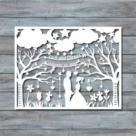 free paper cut out templates free wedding papercut template craftbnb