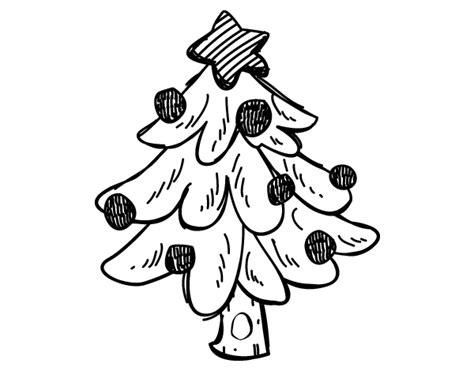 dibujo de un 225 rbol navidad para colorear dibujos net