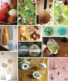 Home Decor Ornaments by The Creative Place Diy Christmas Ornament Round Up