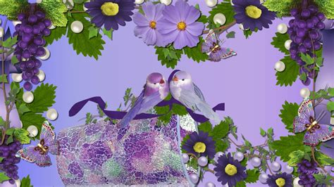 wallpaper desktop love flower love birds wallpapers wallpaper cave