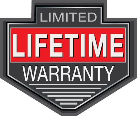 lifetime warranty logo felling to offer lifetime warranty the municipal