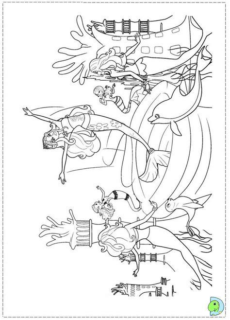 coloring pages barbie mermaid tale barbie in a mermaid tale coloring page dinokids org