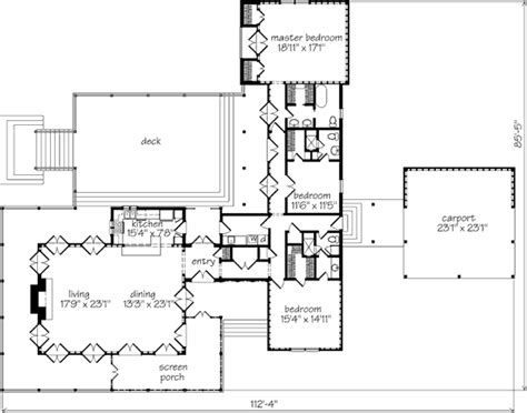 ken tate house plans white oak landing ken tate architect southern living house plans