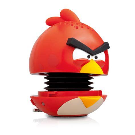 gear angry birds gpgg mini speaker red bird
