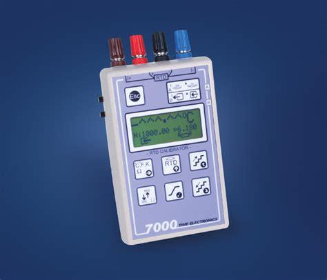 rtd temperature calibrator portable process
