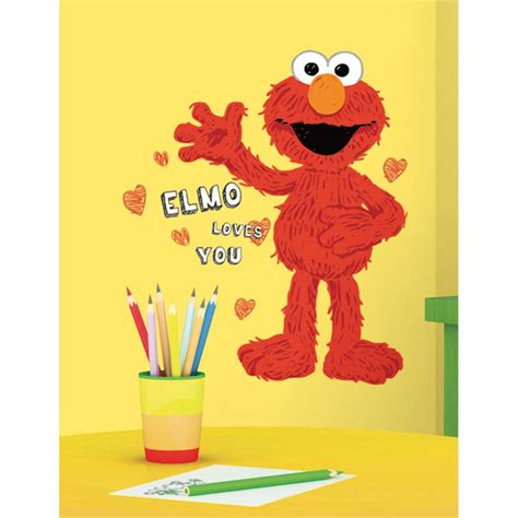 elmo wall stickers elmo you wall decals