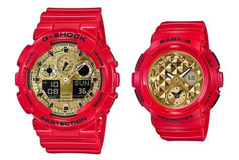 G Shock Gshock Baby G Baby G 12 g shock dresses the ga 100 and baby g bga 195 in matching