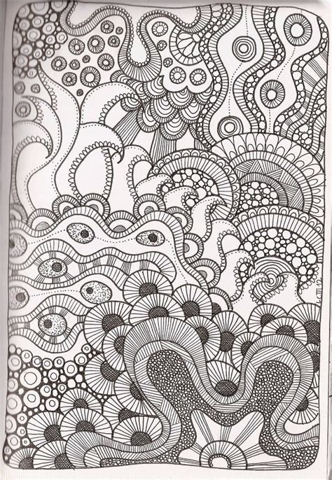 free printable zentangle patterns free printable zentangle coloring pages for adults