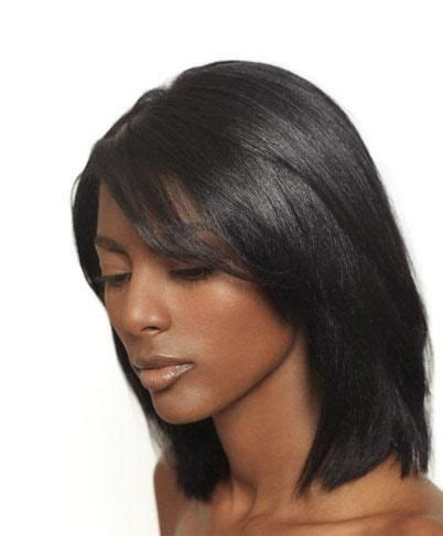 short hairstyles for black women that flat iron show how to do it relaxed hair flat irons and hair on pinterest