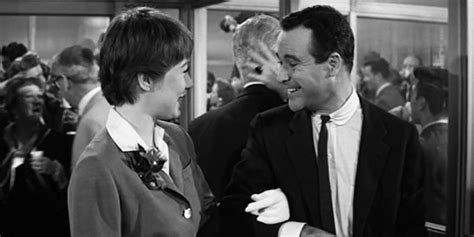 The Apartment Review 1960 Comedy Basementrejectsbasementrejects