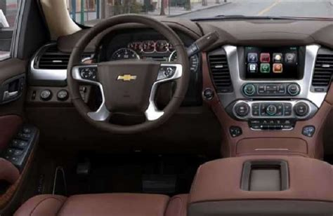 Chevy Interior by 2017 Chevrolet Suburban 2500 Price Release Date Redesign