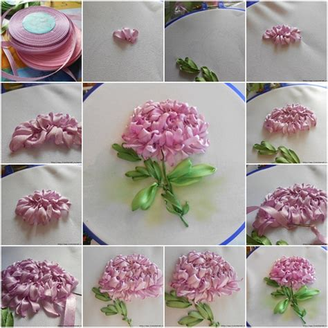 ribbon embroidery flower garden the gallery for gt ribbon embroidery flower garden