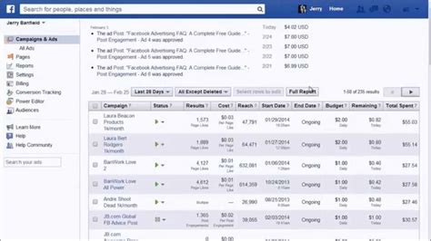 facebook ppc ads tutorial meet the facebook ads manager overview tutorial with daily