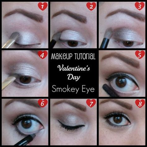 valentines day makeup tutorial s day smokey eye makeup tutorial pictures