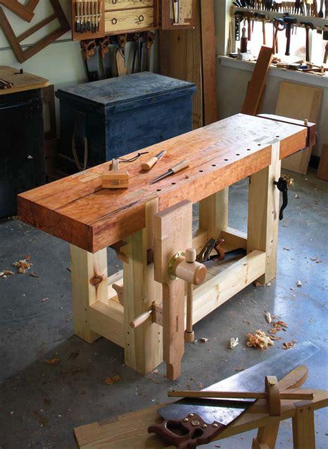 standard workbench top dimensions plans diy  types