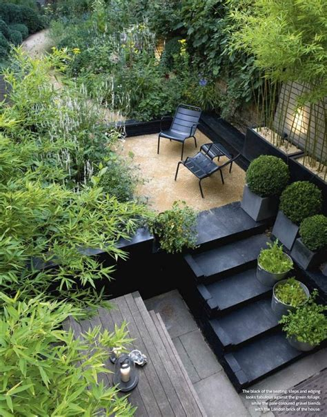 City Garden Ideas Pea Gravel Garden On Pinterest Gravel Garden Pea Gravel And Pea Gravel Patio