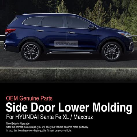 New Agya 2017 Side Molding With Colour Colour By Request oem side door molding silver garnish 4ea for hyundai 2013 2018 santa fe xl ebay