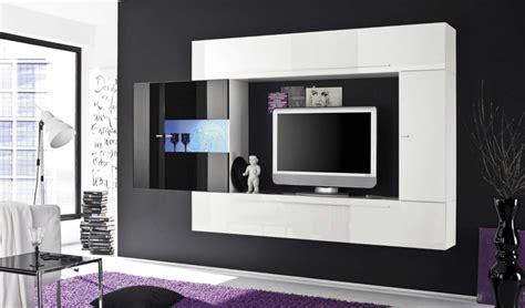 mobile soggiorno design mobile soggiorno square design con vetrinetta nero laccato