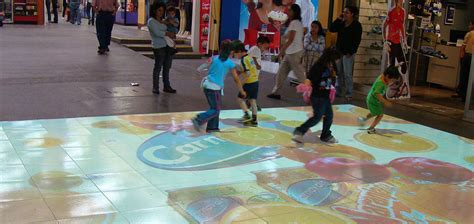 Interactive Floor by Project Projection Play Everywhere Gallery