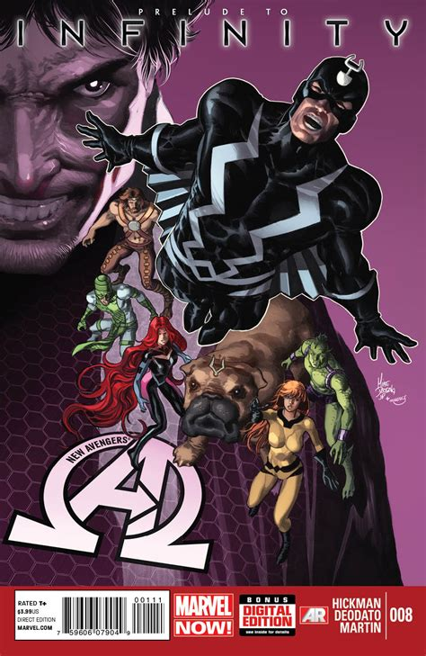 black bolt vol 1 time new 8 preview prelude to infinity