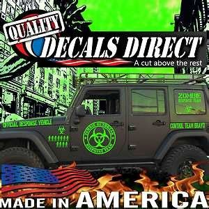 zombie jeep decals 11 best images about stickers on pinterest vinyls