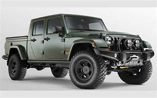 Jeep Gladiator Release Date 2018 Jeep Gladiator Price Release Date And Specs New
