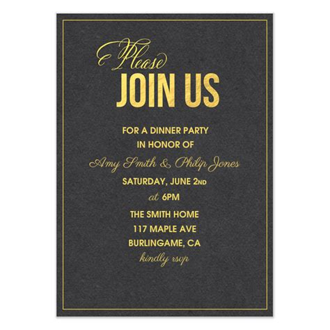 please join us invitations cards on pingg com