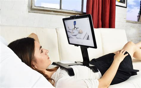 ipad holder for bed or sofa tstand the ipad bed stand that hugs you singapore the