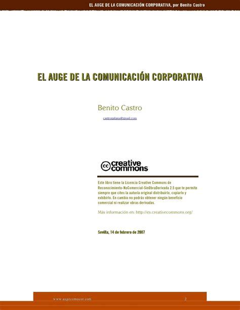 el auge de los 8449332303 el auge de la comunicacion corporativa