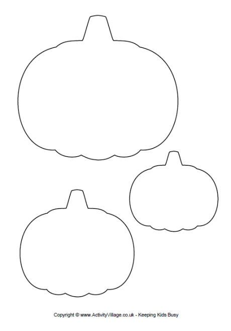 pumpkin printable templates pumpkin template