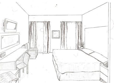 draw room layout 1 point of view room in drawing drawings from floor plans to 1 and 2 point perspective