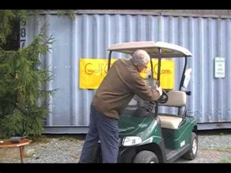 how to install a battery meter on a golf cart how to